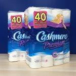 Papier hygiénique 2 plis Cashmere 2pqts / 40 rouleaux (CO)