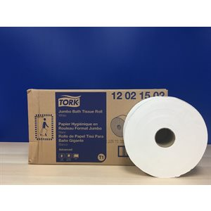 Bathroom tissue Tork TO12021502 6 rlx 2 plis 1600' (R)