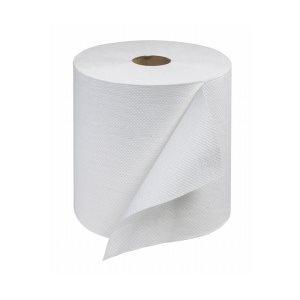 "Papier à main Tork Blanc 8"" 6 rlx x 800' (RB8002)(R)"