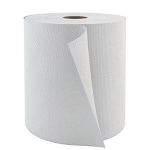 Papier à mains Pro Select Blanc 8'' 6rlx x 800' (6820)(60)(ABP)
