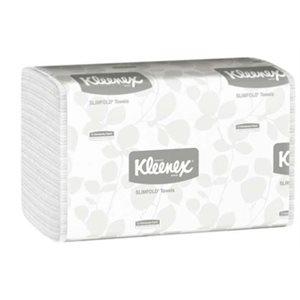 Papier à mains Slimfold Kimberly Clark Blanc pli multiple 24x90 (C)