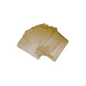 Sacs bruns cirés pour serviettes hygiéniques (M)7 x 4 x 10 cs / 500