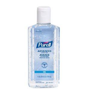 Antibactérien Purell pour mains sans parfum 118 ml (S)
