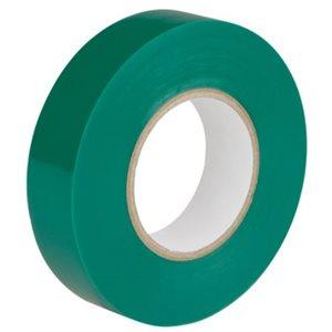 Ruban électrique Vert 18mm x 20 y. / un.(S)