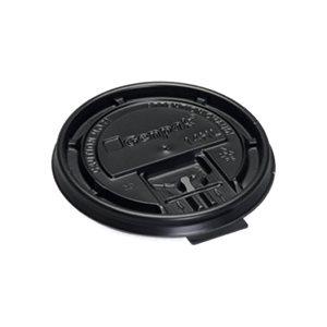 Couvert Dome Noir Gourmet 10 à 20 oz cs / 1000 pour 800066-G