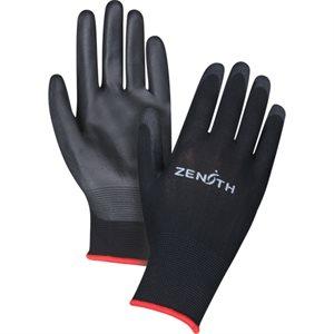 Gant de nylon poly PETIT 695 / dz noir (S)