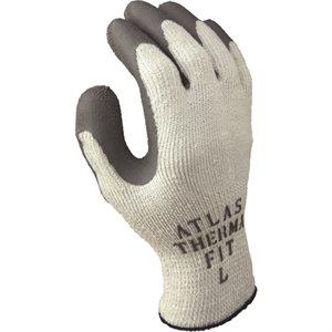 Gant de Nylon thermique poly blanc large / pr Best (S)