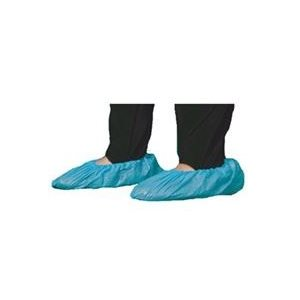 Couvre-Chaussure Jetable Bleu en Plastique cs / 500 #741 (M)