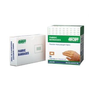 """Bandages adhésifs 2"""" x 3'' bte / 50 (S)"""