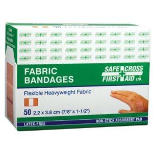 """Bandages Adhésifs 7 / 8"""" x 1½'' bte / 50 (S)"""