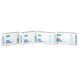 Bandage de Gaze en rouleau 4'' x 15' pqt / 2