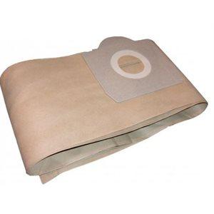 Sacs en papier 580 pour aspirateur Shop Vac JV115 / 80 pqt / 5(J)
