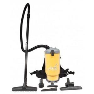Aspirateur Dorsal Professionnel 1440w 1.5 gallons GHIBLI JVT1 câble d'alimentation de 9m (JV)